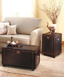 steamer trunk side table side table chest subliminally info