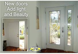 Exterior Door Inserts Modern Glass Exterior Doors Moniredu Info
