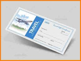 travel gift certificates 8 travel certificate sle sle of invoice