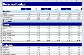 Free Excel Personal Budget Template 5 Best Images Of Personal Budget Worksheet Printable Personal