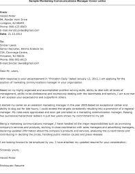 job covering letter samples marketing associate cover letter