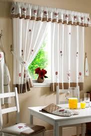 modern kitchen curtain patterns design modern kitchen decor with short mid century modern curtain red