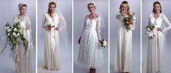 wedding dress 100 wedding online brides 100 years of wedding dresses in