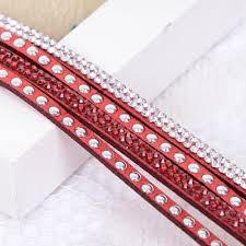 red wrap bracelet images Bracelets glitter co glam jpg