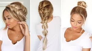 3 different ways to rock a fishtail braid ft f with loop