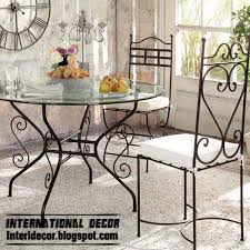Wrought Iron Dining Table And Chairs Beautiful Wrought Iron Dining Room Sets Images Rugoingmyway Us