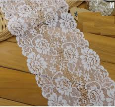 bulk lace ribbon wholesale bulk lot ivory elastic stretch lace trim diy sewing
