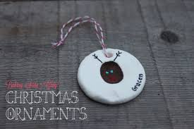 baking soda clay ornaments papa bubba