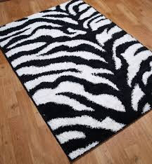 Black And White Zebra Area Rug Black And White Zebra Print Rug Rug Designs