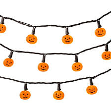 pumpkin lights 20ct led pumpkin string lights hyde and eek boutique