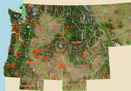 Ups Shipping Map Ore Rock On Oregon Rockhounds Online Dvd Of Rockhounding Sites In