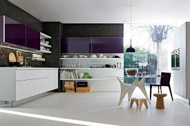 Purple Kitchen Decorating Ideas Kitchen Contemporary Purple Canister Kitchen Design Ideas Using
