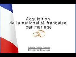 nationalitã franã aise mariage besma maghrebi acquisition de la nationalité française par