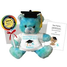 middle school graduation gifts graduation teddy bears invitations and personalized graduation