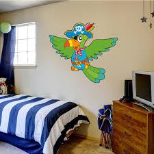 wallstickers folies pirate parrot wall stickers pirate parrot wall stickers