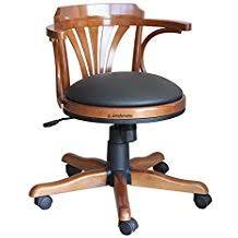fauteuil de bureau en bois pivotant amazon fr fauteuil bureau bois pivotant