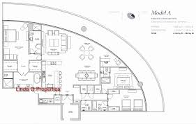 St Regis Residences Floor Plan Oceanbleau Hollywood Beach Condos New Luxury Waterfront Condos