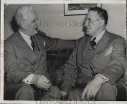 1944 president 1944 press photo president roosevelt u0026 james e markham at markham