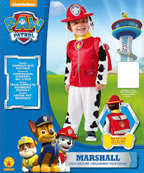 halloween costumes for family of 3 with a baby amazon com rubie u0027s costume toddler paw patrol marshall child