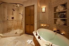 master bathroom spa like setting decor crave