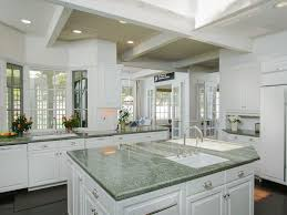 Tiled Kitchen Island by Traditional Kitchen With Raised Panel U0026 Stone Tile In Rancho Santa