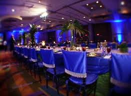 royal blue chair covers what is your wedding chair style the wedding