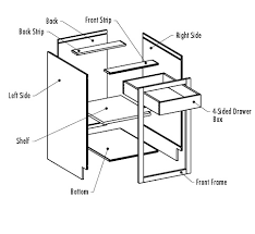 parts of kitchen cabinets cabinet drawer parts kitchen cabinet parts kitchen design