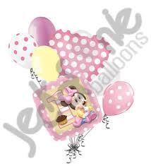 minnie mouse 1st birthday disney baby minnie mouse 1st birthday balloon bouquet