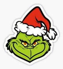 grinch stickers redbubble