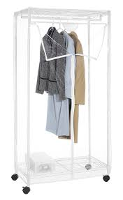 Clothes Closet Amazon Com Whitmor Supreme Clothes Closet 36 Inch Home U0026 Kitchen