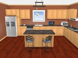 color of cabinet and room office clipgoo honey oak cabinets wall