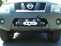 nissan frontier front bumper done u003e winch mount in stock bumper pic heavy update 6 20 11