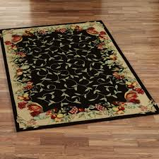Small Kitchen Rugs Beautiful Fruit And Floral Leafs Small Kitchen Rugs On Faux Wooden