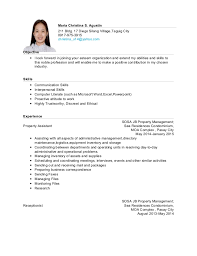 example of resume about hrm resume ixiplay free resume samples
