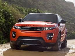 orange range rover evoque range rover evoque autobiography dynamic geneva preview