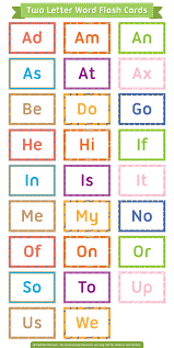 printable note cards pdf free printable two letter words flash cards download them in pdf