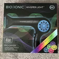 bio ionic whisper light hair dryer 42 off accessories bio ionic whisper light hair dryer new from