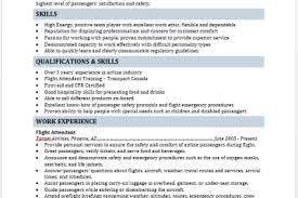 Flight Attendant Resume Templates Resume Templates Free Layout U0026 Format