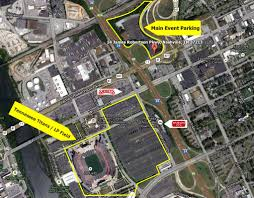 Map Of Nashville Tennessee by Map Lp Field Parking Tennessee Titans Parking Lot