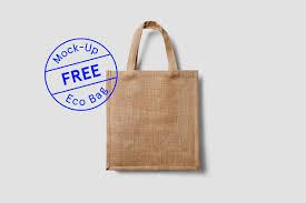 eco bag free eco bag mock up on behance