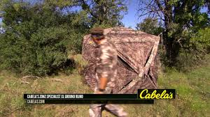 Ground Blind Reviews Cabela U0027s Zonz Specialist Xl Ground Blind Youtube
