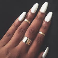 nail shapes manicure beautify themselves with sweet nails