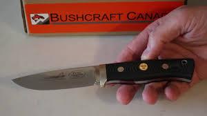 limited fallkniven f1 black micarta view by www bushcraftcanada