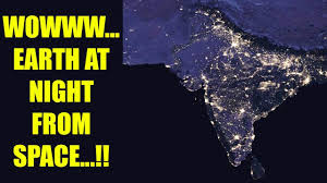 World At Night Map by India Shines At Night Nasa Releases Pictures From Space