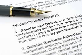 Signing A Business Letter by 4 Things To Watch Out For In An Employment Contract Careerbuilder