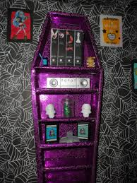 monster high doll house coffin book shelf my daughter laughed cuz