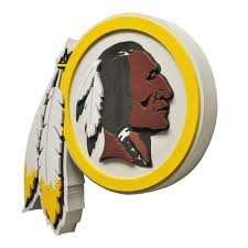 fan foam 3d wall sign washington redskins logo 3d foam hand and wall sign daily press
