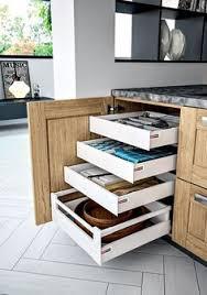 casserolier cuisine tiroir à l anglaise pour casserolier pour meuble l 60 cm delinia