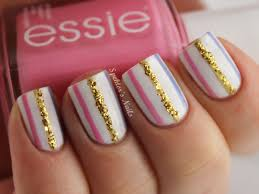 stripe nail designs nail art