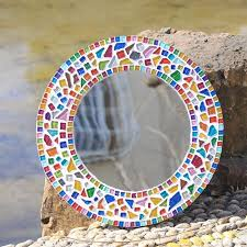 New Year Decoration Diy by 250g Mixed Color Irregular Mosaic Tiles Crafts Glass Marbles Diy